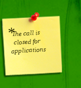 The call is     closed for    applications