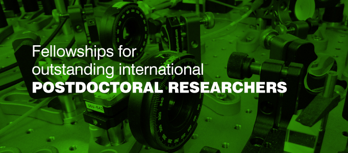 Fellowships for outstanding postdoctoral International Researchers working in Photonics